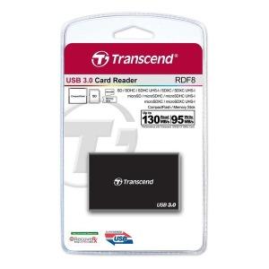 무료배송.  트랜센드 RDF8 / USB3.0 멀티카드리더기