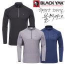 [블랙야크] 가을/겨울 남성용 겨울 등산기능성 기본티셔츠 L프레스티셔츠(남성)