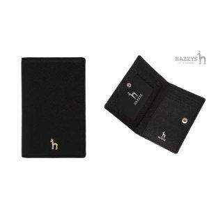 (현대백화점)헤지스핸드백 HIHO7F131BK 남여공용 블랙 퍼피로고 장식 소가죽 카드지갑