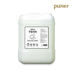 퓨리어 친환경인증 주방세제 15L/과일세척/젖병세척