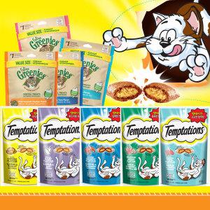 템테이션 85g x 5개 고양이간식 그리니즈 파티믹스