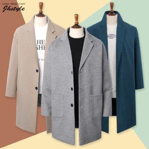 봄 블루종 자켓 코트 싱글 트렌치 남자 남성