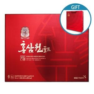 홍삼원골드 50mlX60포-효도선물/한삼인/홍삼원/골드진