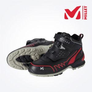MILLET M-008 가죽제 경량 안전화/벨크로 작업화