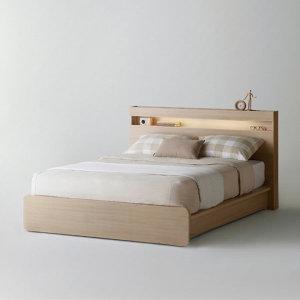 샘베딩 클로즈 침대 QK 메이플 (매트별도)