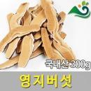 청명약초 영지버섯(300g)-국내산