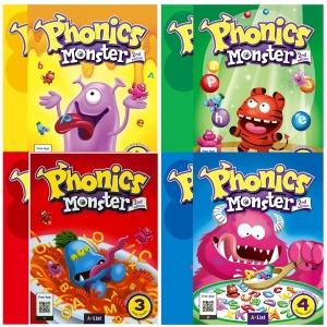 Phonics Monster 1 ~4단계 2/E (S+w) / 전8권+미니노트+필통