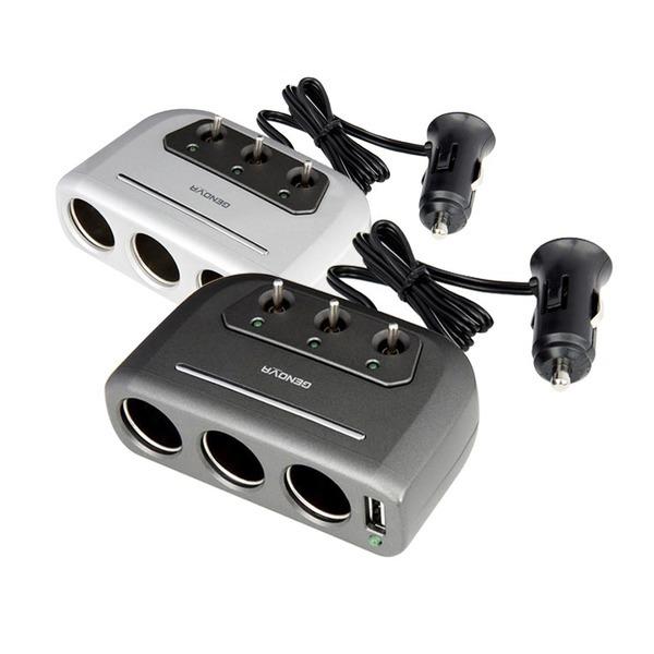 차량용시거잭 자동차 USB 스위치 멀티 3구소켓