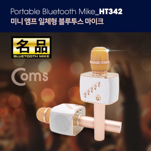 휴대용 블루투스 노래방 마이크 강력 2CH 우퍼 스피커