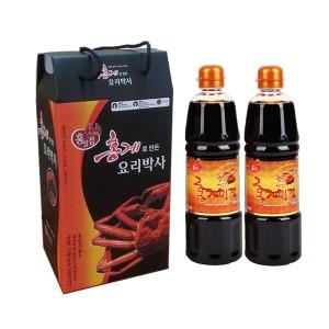 홍게맛장 선물세트 3호 B / 오늘 무료배송