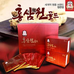 1+1특가 맛있는홍삼 정관장 홍삼원 골드50ml60포