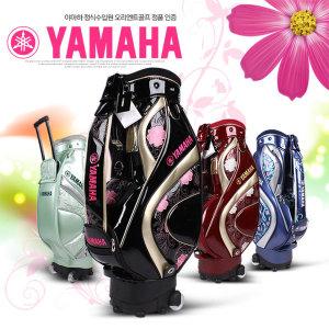 YAMAHA  야마하골프 정품 Y15CBL 자수 무늬 여성용 바퀴형 캐디백