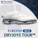 풋조이 FJ 17 53707 DRYJOYS TOUR BOA 남성 골프화 WH