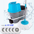 통돌이 회전식 물걸레 청소기 고급형(물튀김 방지커버 포함)/밀대 청소기