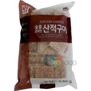 사조오양 숯불 갈비맛 산적구이 1kg