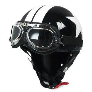 한미 정품 고글모 반모 오토바이헬멧 (한미고글모)
