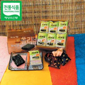 맛있는 아세아재래김 10봉 해양수산부 전통식품 선정