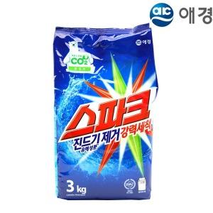 애경 스파크 리필 3kg 세탁세제