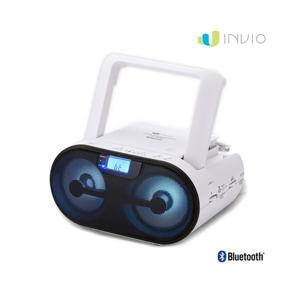 인비오 CD-800BT 블루투스 CD플레이어 LED이퀄라이저