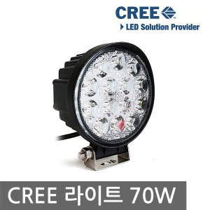 CREE LED 써치 라이트 집어등 작업등 낚시 캠핑 70W