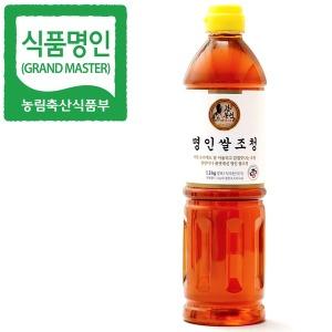 식품명인 강봉석 쌀조청 1.3kg/조청 물엿 올리고당 꿀