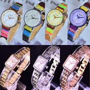 줄리어스 여성용시계 가죽시계 팔찌시계 손목시계