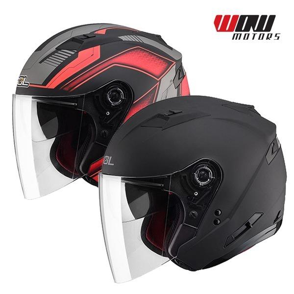 SOL SO-7 오픈페이스 헬멧 바이크스쿠터 오토바이용품