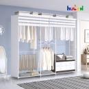 (특가)휴센 갤럭시 조합형 드레스룸/옷장/행거