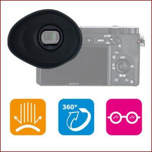 JJC ES-A6300G 회전 아이피스 소니 FDA-EP10타입/안경