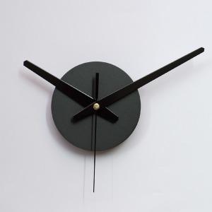 붙이는시계 무소음무브먼트 아미공 DIY 시계부분 블랙