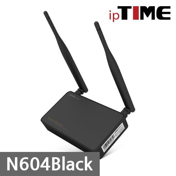 빠른배송 ipTIME 공인판매점 N604 Black 유무선공유기
