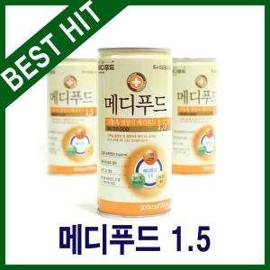 메디푸드 1.5 고농축(200ml 30캔)/최근 제조/신속배송