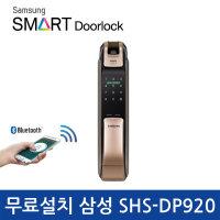 (무료설치) 삼성 푸시풀 도어락 SHP-DP920/지문인식
