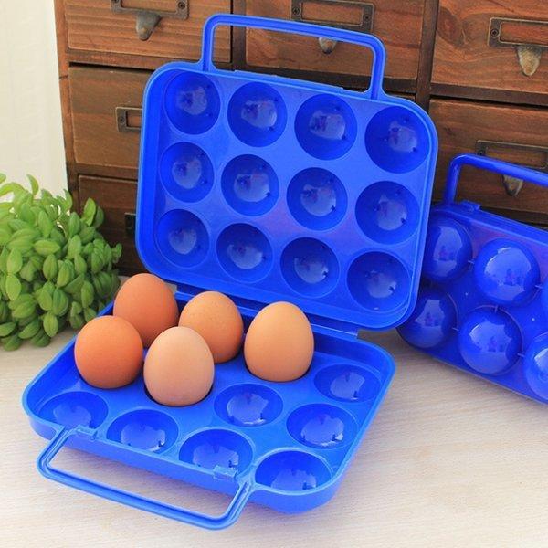 피크닉 계란 보관함 케이스-이동 휴대용 용기 수납함