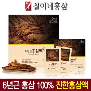 철이네홍삼 / 6년근 지강인홍삼액(100ml 60포)