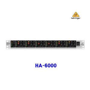 HA-6000 /HA6000 /헤드폰앰프/헤드폰분배기/베링거