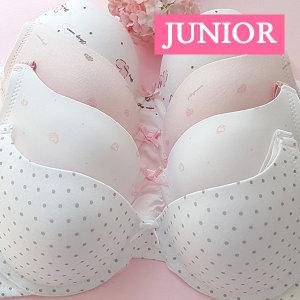 국산 주니어브라 1.2.3 단계별 쥬니어 학생속옷 런닝