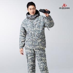경신  KSK-J682 추동작업복 상의 그레이/베이지