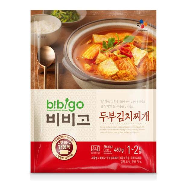비비고 두부 김치찌개 460g/김치찌게/찌게/비비고/3분