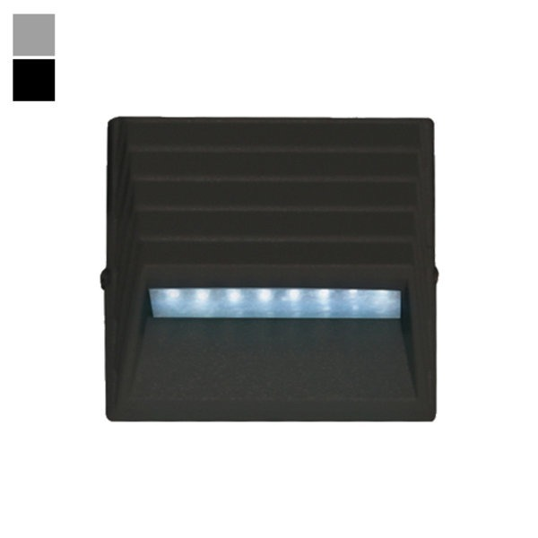 LED 사각 방수 발목등 1W