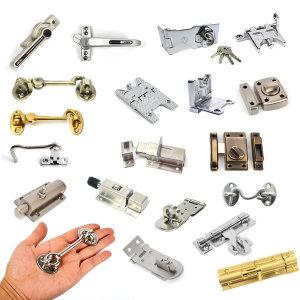 문 창문 잠금장치 안전 빗장걸이 걸쇠 보안 자물쇠