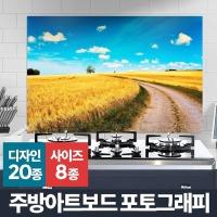 주방아트보드 포토그래피 벽걸이액자 강화유리 아트월