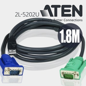 ATEN 에이텐 2L-5202U KVM 케이블 USB 1.8M