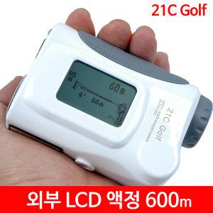 21c Golf 골프거리측정기 600m slope600 외부 LCD