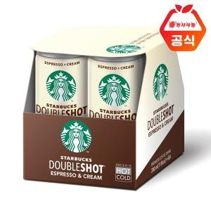 스타벅스 더블샷 에스프레소크림  200mlx4 캔 커피