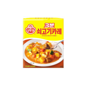 오뚜기 쇠고기카레200g/카레/짜장/미트볼/3분요리