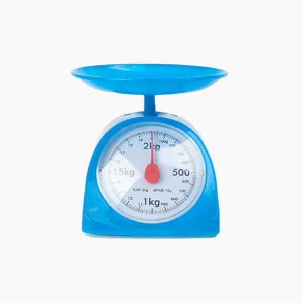 키친스케일 주방저울 2kg / 블루