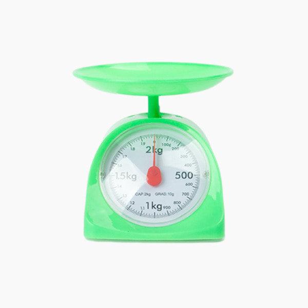 키친스케일 주방저울 2kg / 그린