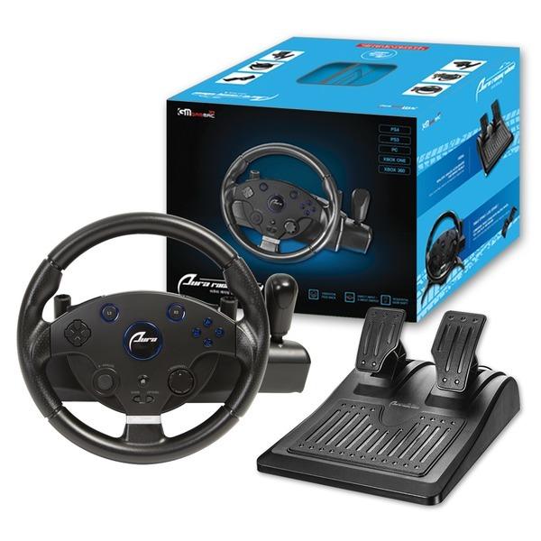 PS4/PC 아우라 레이싱 휠 핸들 어린이날 선물