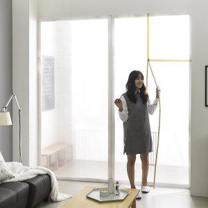 방풍 비닐 커튼 창문 바람막이 단열 뽁뽁이 에어캡